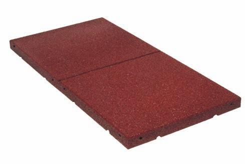Regupol® Dach- und Gehwegplatten dienen als Inspektionswege auf Flachdächern oder als schützende Basiselemente für Solarkollektoren,