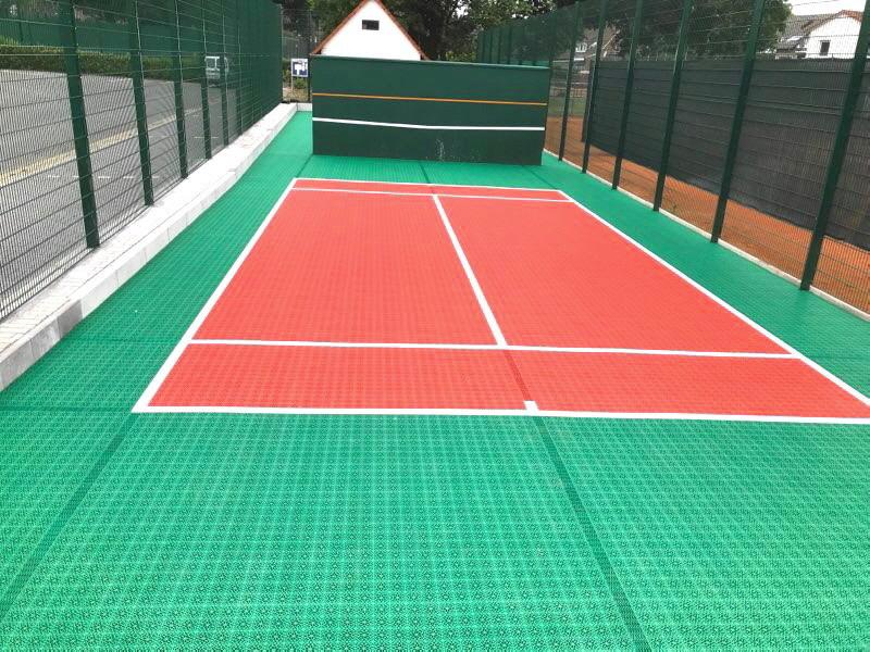 U8 Tennis Kleinspielfeld für den TSV Wallenhorst von OSTACON Bodensysteme